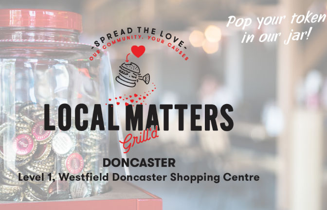 Grill'd Doncaster Fundraiser
